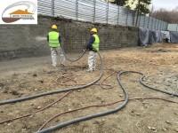 Укрепване на изкопи, стари къщи и сгради чрез торкрет бетон
