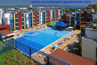 Sunny Beach apartments Cacao Beach for rent Apart Hotel Elit 4