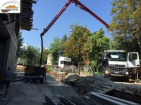 Услуги със стационарна бетон помпа