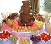 Шоколадов фонтан под наем от НОВА Кетъринг за всяко събитие!